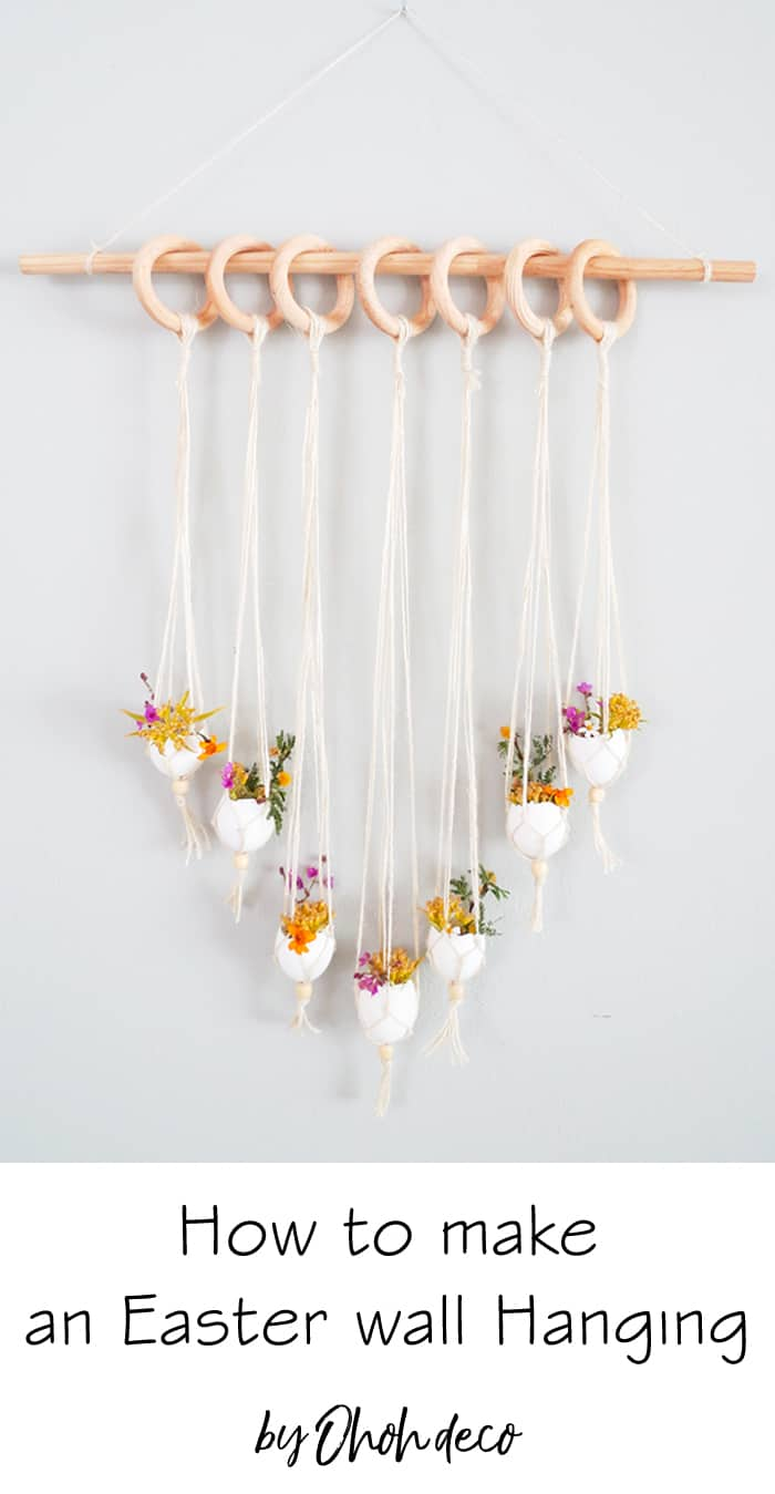 how to make an easter wall hanging decor