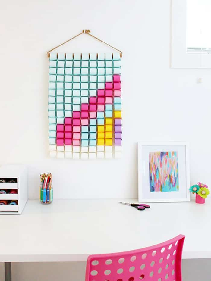 paper wall hanging