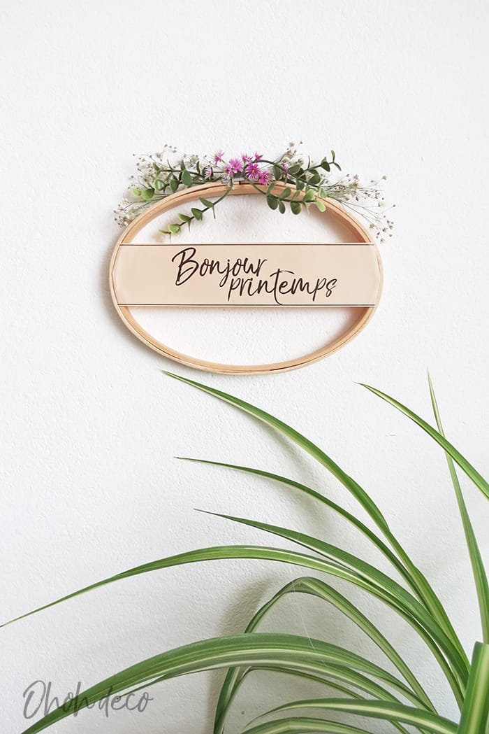 easy spring wreath diy