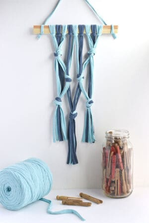 easy macrame wall decor