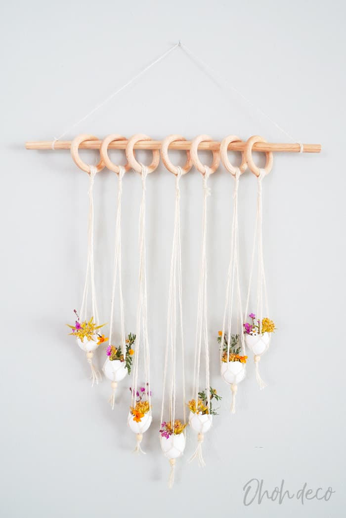 Easter diy wall hanging