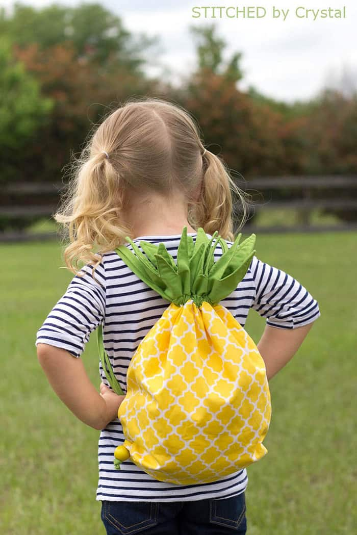 pineapple bag free pattern