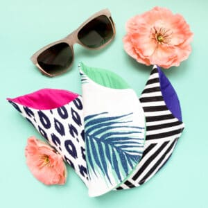 easy to make sun glasses case