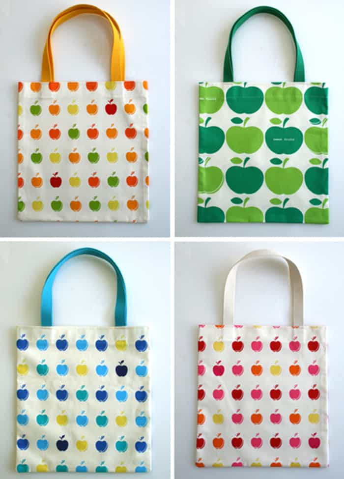 easy to sew tote bag