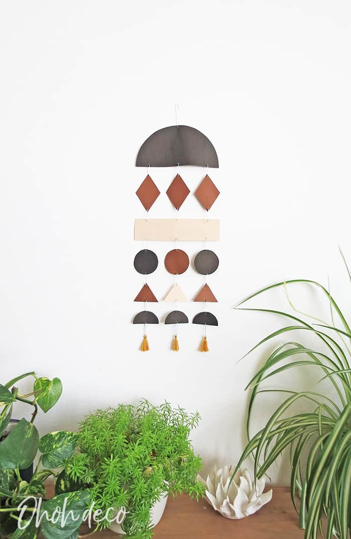 hang your paper wall decor