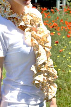 sew a summer scarf