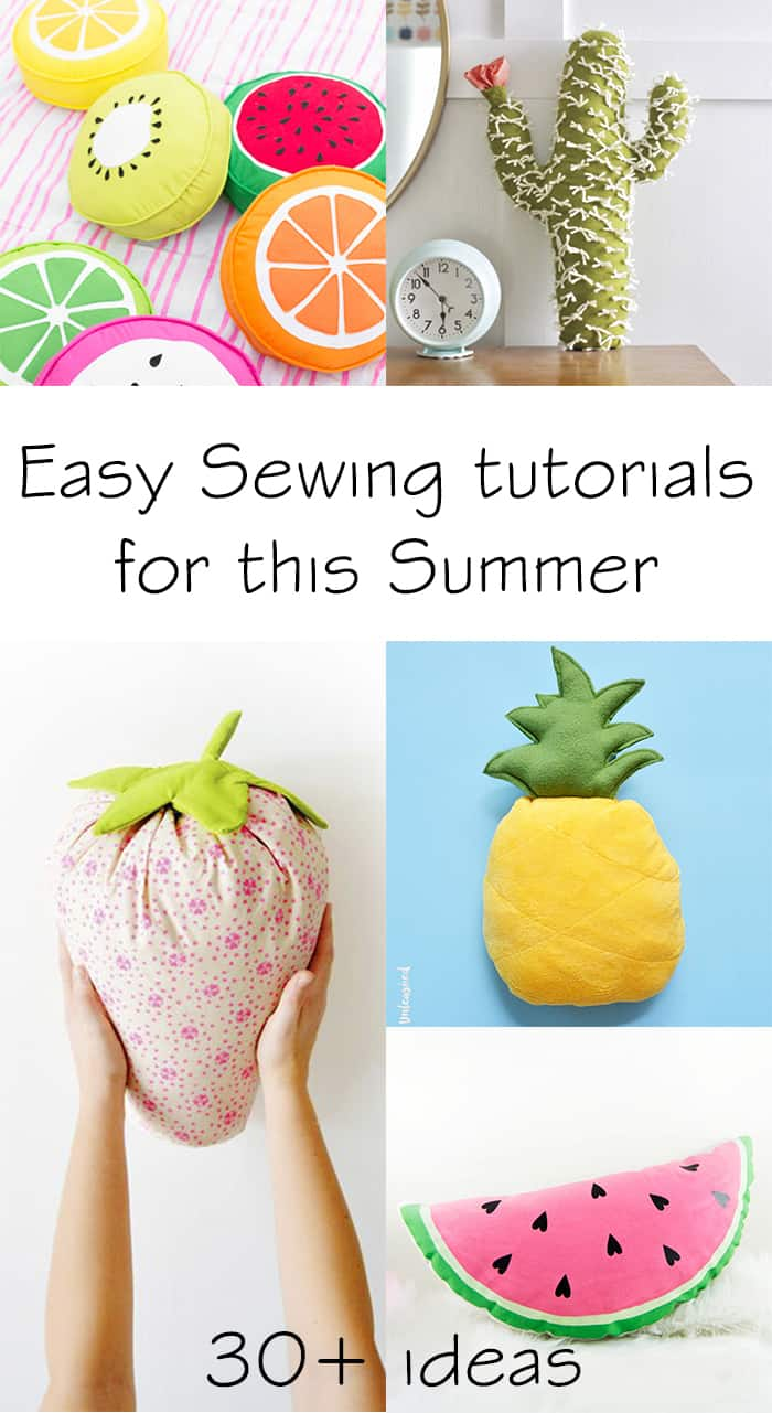 the best sewing tutorials for this summer