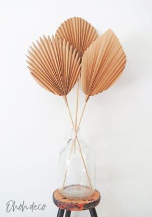 DIY palm leaf