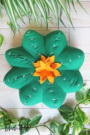 cactus shaped pillow
