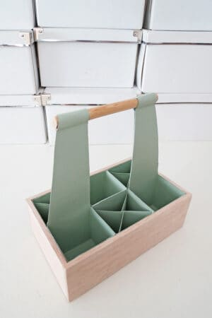 diy dsk organizer with handle