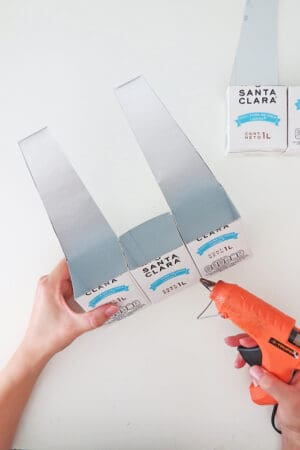 glue milk carton