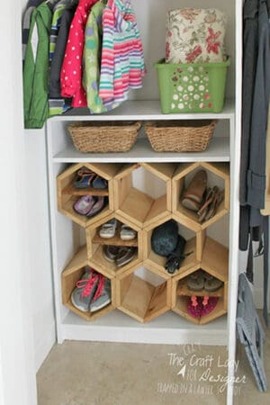 diy shoe containers