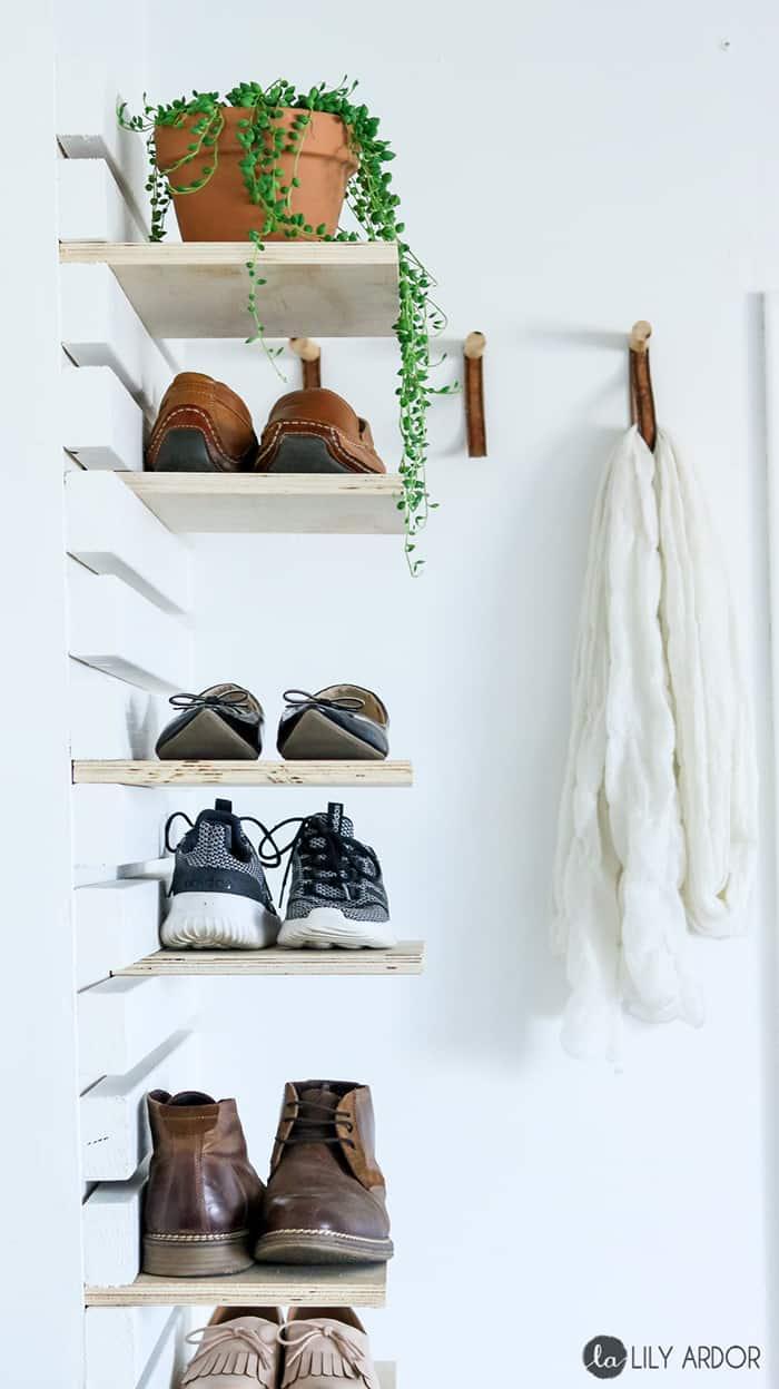 Shoe Storage Ideas 21 Easy Diy Ohoh Deco