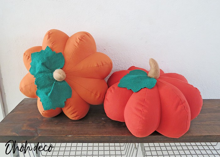 How to make a pumpkin shaped pillow