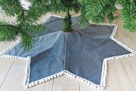 Christmas tree skirt sewing pattern