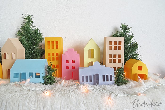 Easy to make 3D Paper house