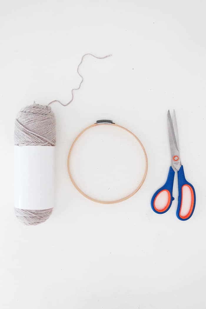 supplies to make diy large pom poms
