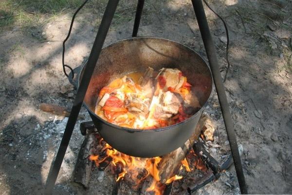 Losyatina a tűzön