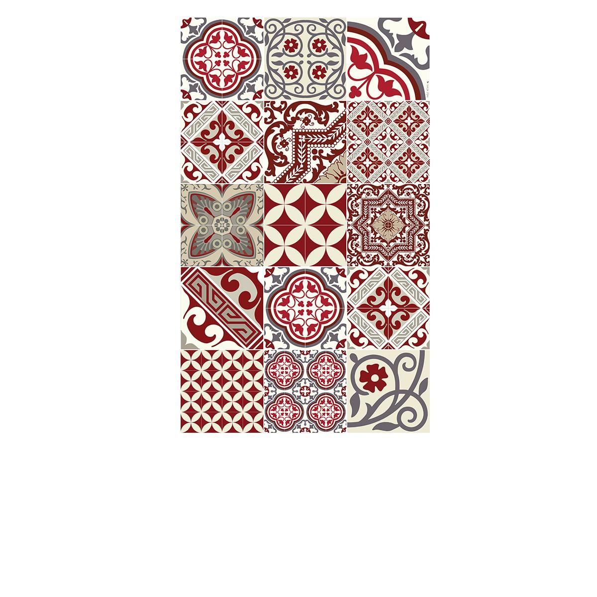 e5 tapis vinyle beija flor eclectic