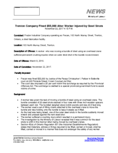 trenton-company-fined-55000-after-worker-injured-by-steel-struts