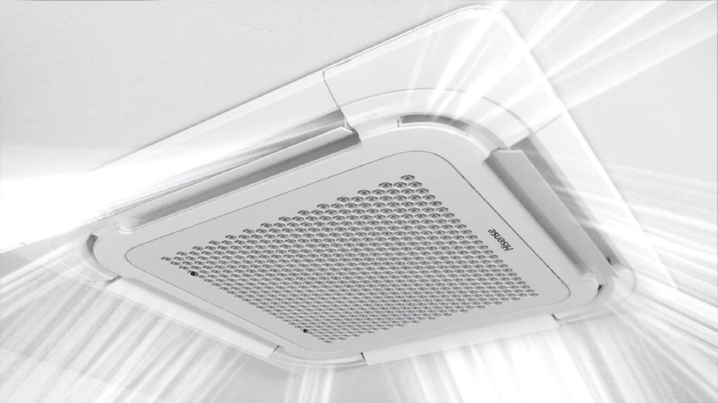 Hisense Ceiling Cassette Air Conditioner Will Be Your Best Partner in Workplace