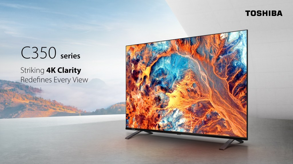 Toshiba TV is Fully Refreshed