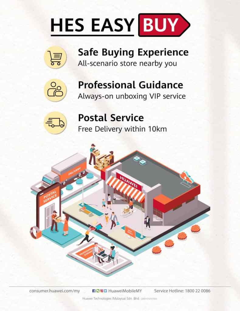 Introducing HUAWEI Experience Store Easy Buy For A Safer & More Convenient Shopping Experience