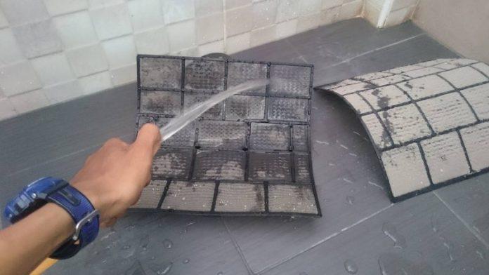 cuci filter aircond