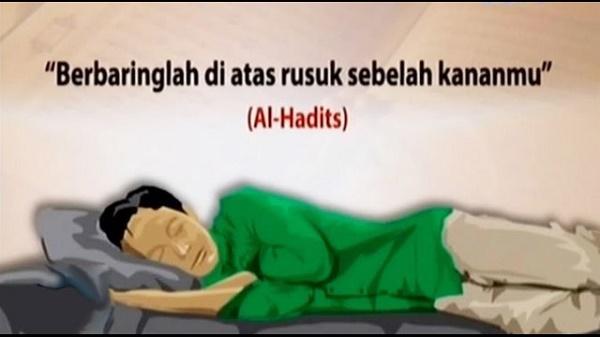 Sebab Nabi S.A.W Suruh Kita Tidur Mengiring Kekanan.