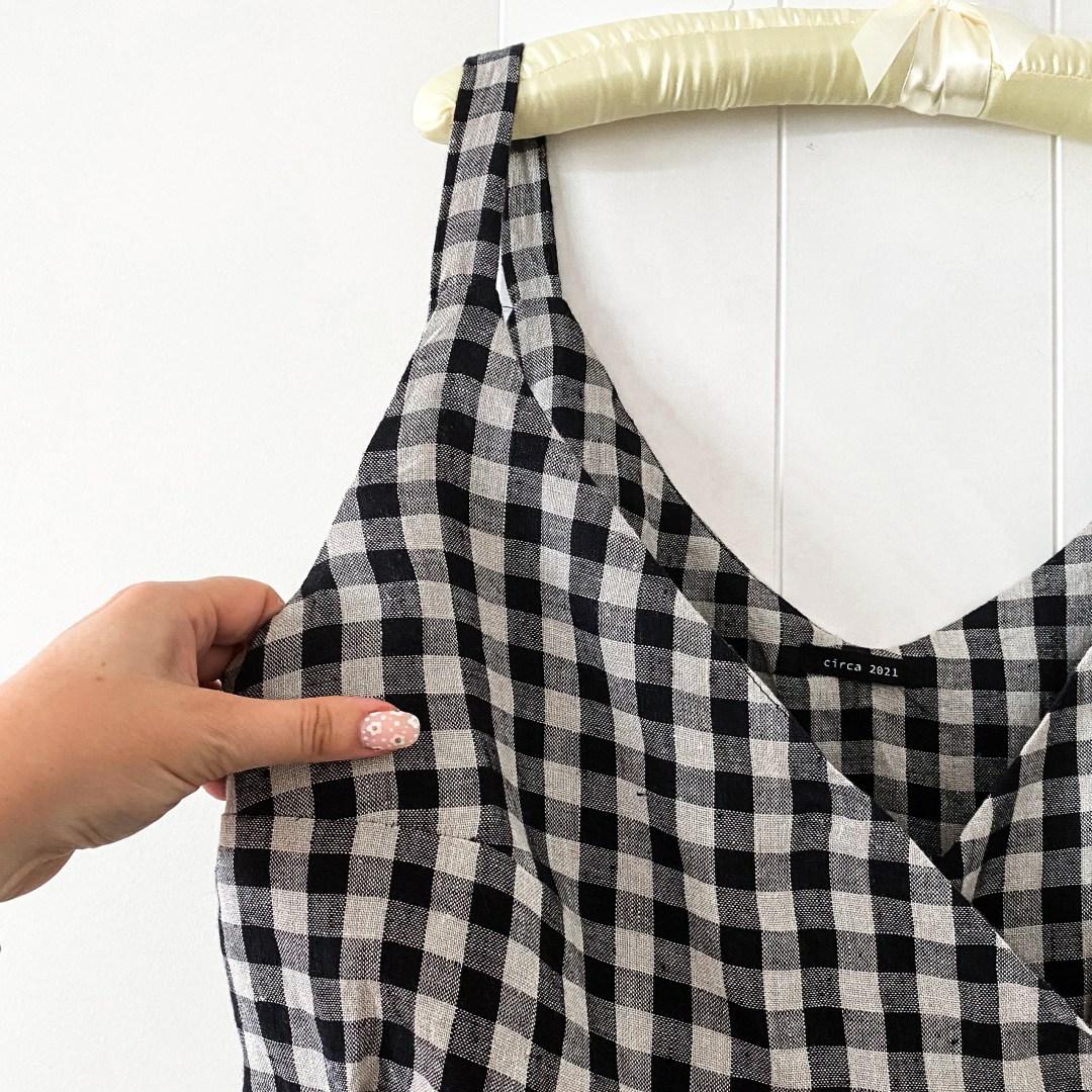 Zadie Jumpsuit pattern hack with Ogden Cami