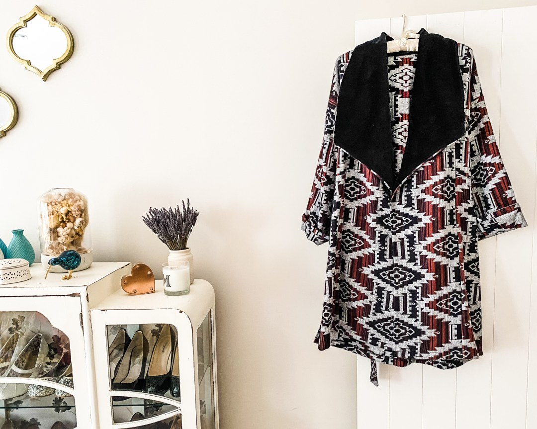 Friday Pattern Company Cambria Duster jacket - pattern review by oh sew fearless
