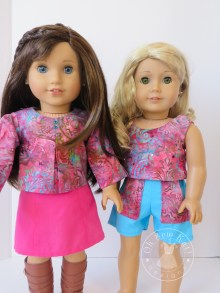 Sewing patterns for dolls by Oh Sew kat!