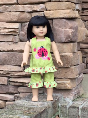 Boardwalk Boutique pattern by Oh Sew Kat sewn by Nuclear Needlearts 2