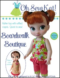 animator sewing pattern by oh sew kat