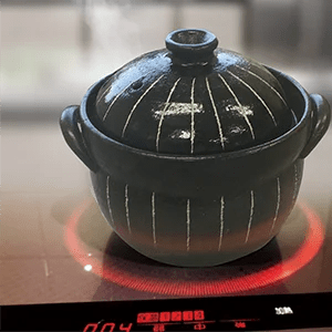 家庭用IH調理器カタログの切り抜き画像