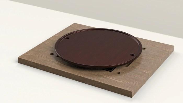 陶板の3DCG