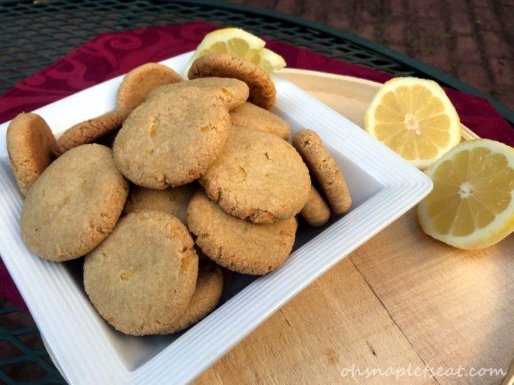 Simple Lemon Cookies (Paleo, Gluten Free, Vegan)
