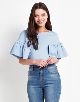 Lost Ink Frill Top