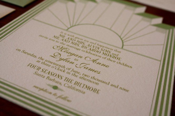 Art Deco Wedding Invitations2