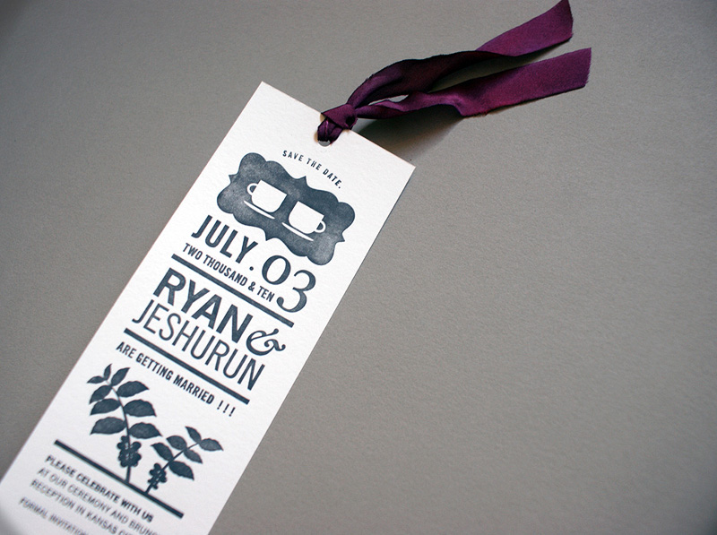 Save Date Cards Recycled Paper