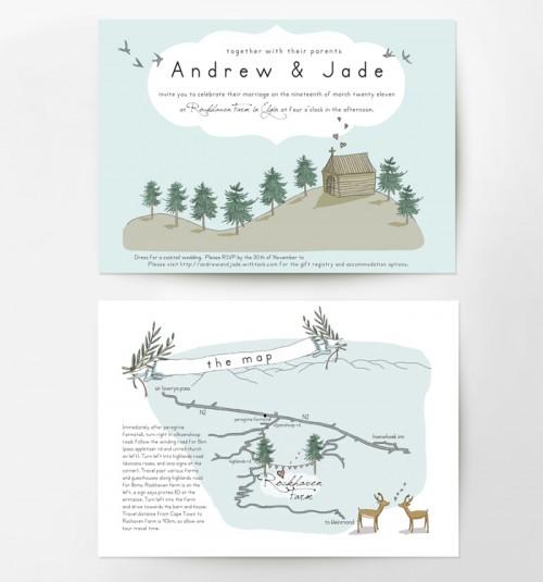 modern-whimsical-illustrated-wedding-invitations