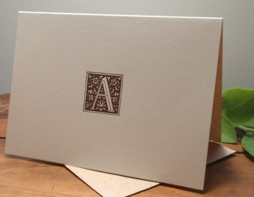 Bumblebee-Letterpress-Ornate-Monogram-Cards