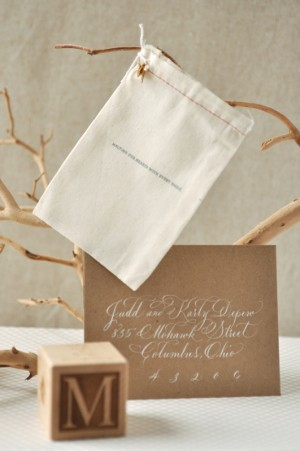Organic-Gray-Gold-Baby-Announcements-White-Calligraphy
