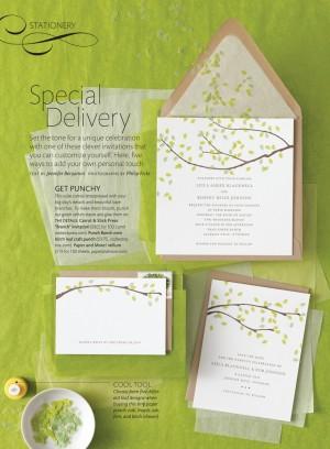 Martha Stewart Weddings Summer 2011 Invitation Ideas 300x408