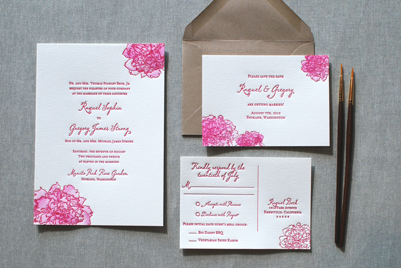 Quick Wedding Invitations