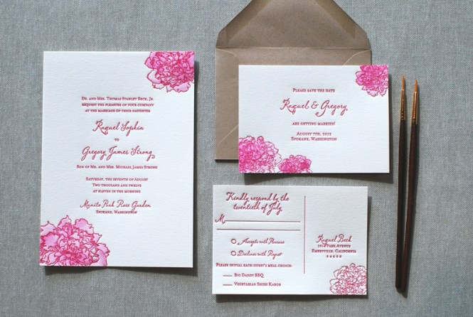20 Wedding Invitation Designs That Reflect The Style