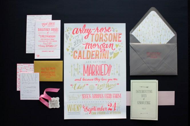 Arley Rose Morgan S Neon Wedding