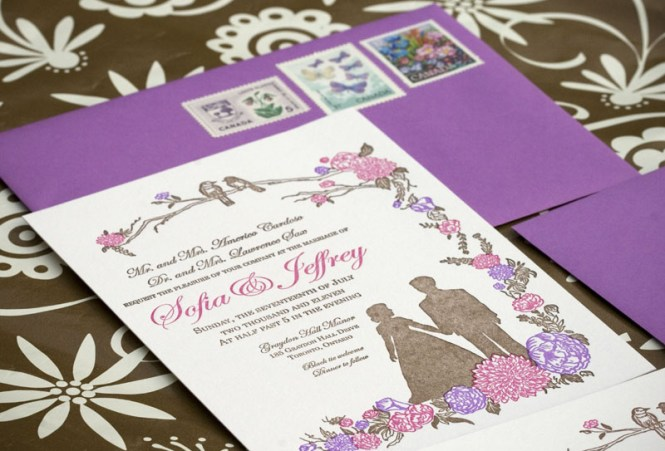Custom Black Pink Purple Blue Greeting Hollow Out Laser Cut Wedding Invitations Paper Cards Party Decoration Favors