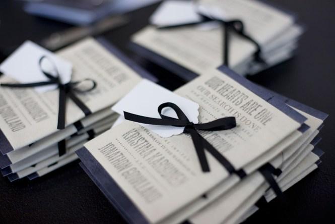 Kristina Jon S Sydney Harbor Fabric Wedding Invitations