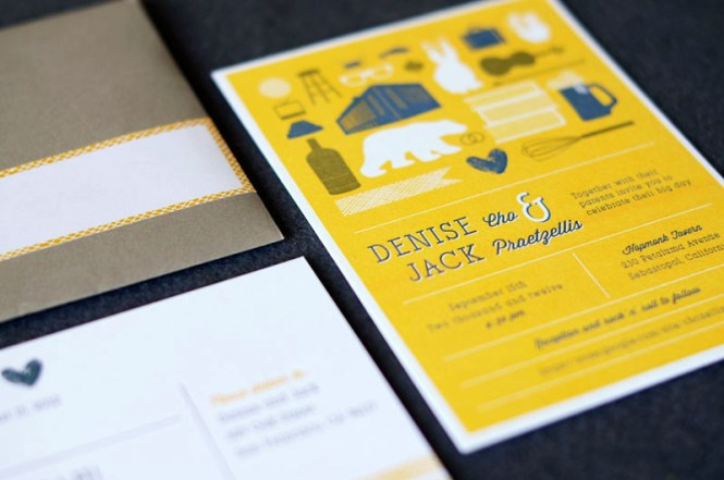 Cute Wedding Invitations To Inspire You On How Create Your Own Invitation 11